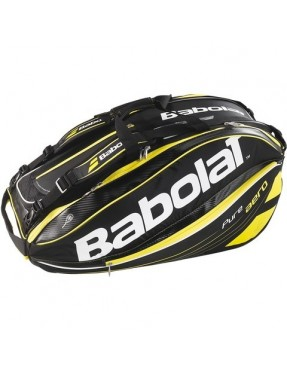 BABOLAT Pure Aero Racket Holder x12 (Amarillo)