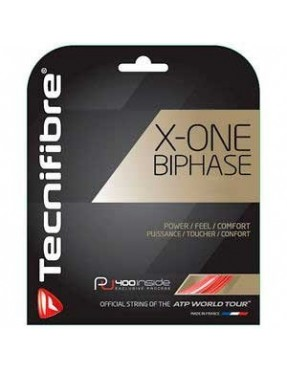 TECNIFIBRE X-ONE Biphase Red 1,24 12m